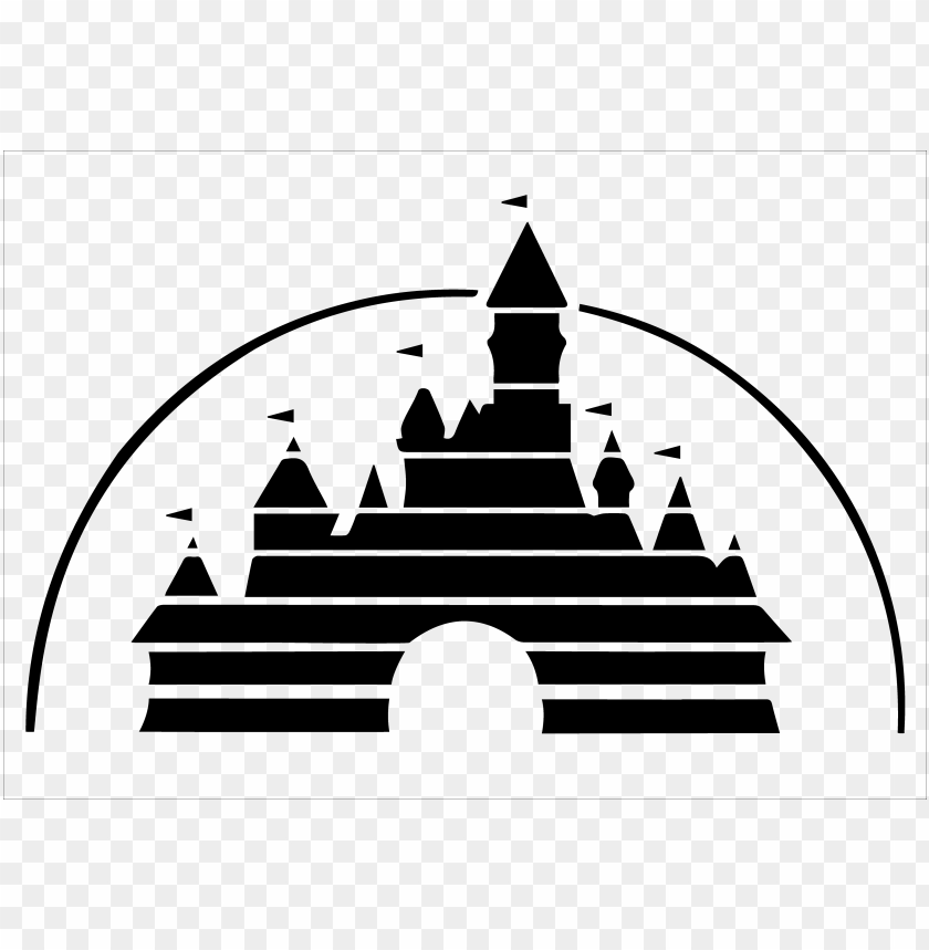 free PNG jpg transparent download logo my future tattoo - disney castle logo PNG image with transparent background PNG images transparent