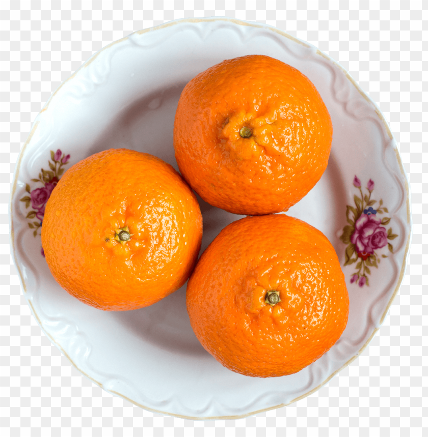 free PNG Juicy Tangerine fruits on White Plate png - Free PNG Images PNG images transparent