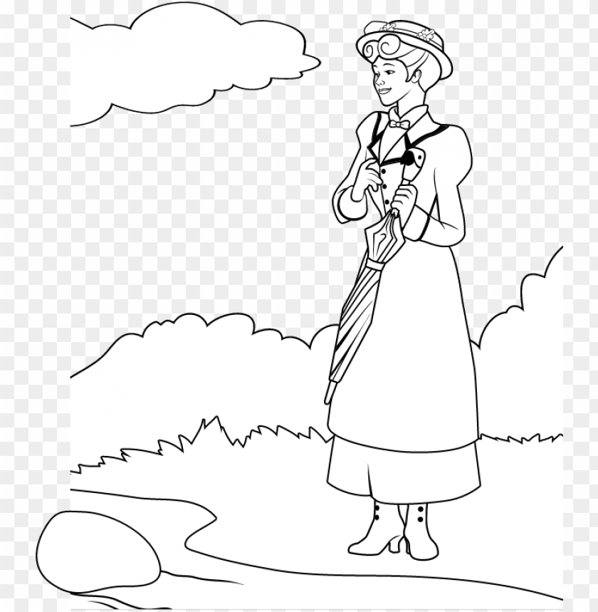 Julie Andrews Coloring Pages Png Image With Transparent Background Toppng