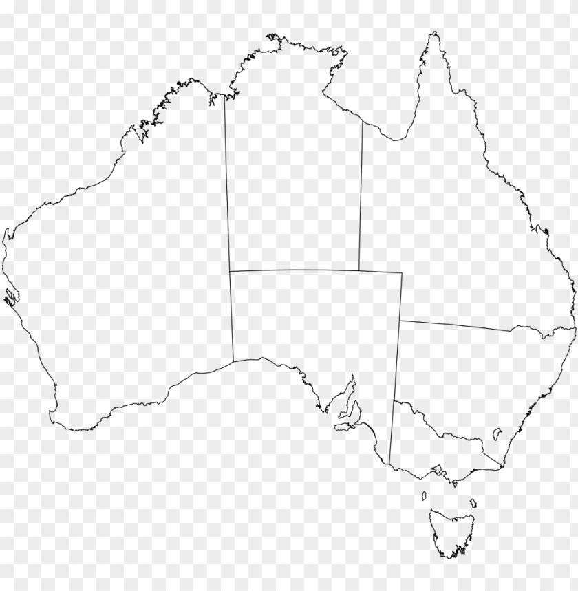 free PNG just arrived australia flag outline of blank map clip - australia map free vector PNG image with transparent background PNG images transparent
