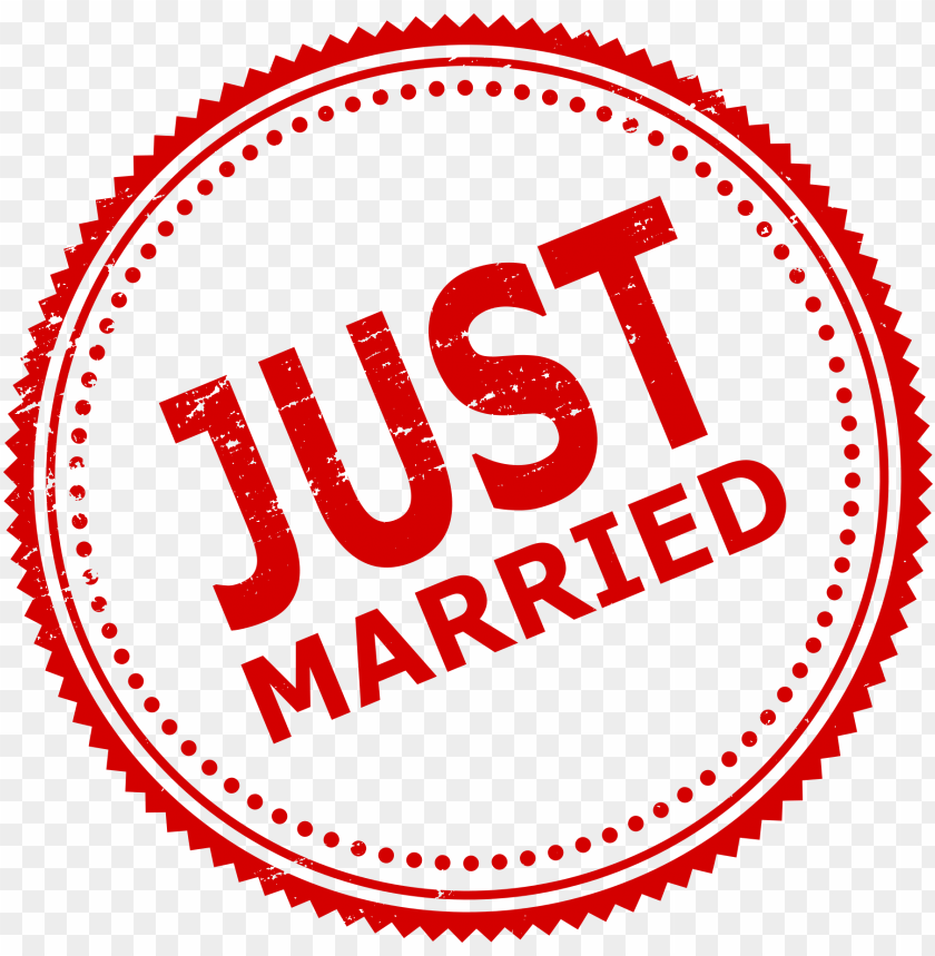 free PNG Just Married Stamp png - Free PNG Images PNG images transparent