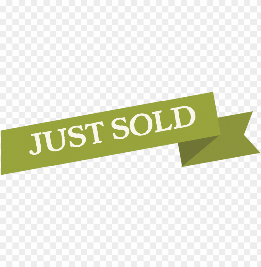 free PNG just sold png image - just sold banner PNG image with transparent background PNG images transparent