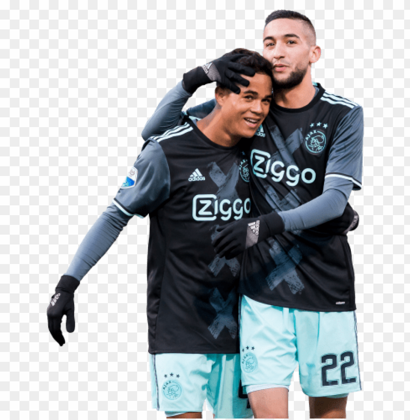 free PNG Download justin kluivert & hakim ziyech png images background PNG images transparent