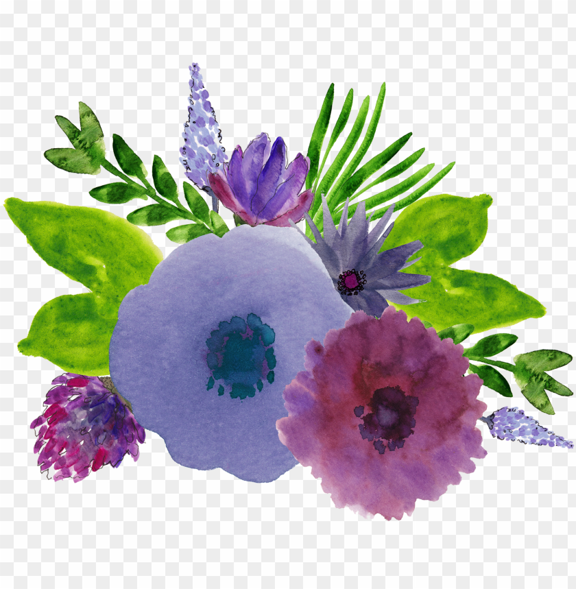 free PNG jx ❤ liked on polyvore featuring backgrounds, watercolor, - purple and green watercolor flowers PNG image with transparent background PNG images transparent