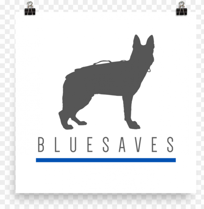 free PNG k9 blue saves / poster - do PNG image with transparent background PNG images transparent