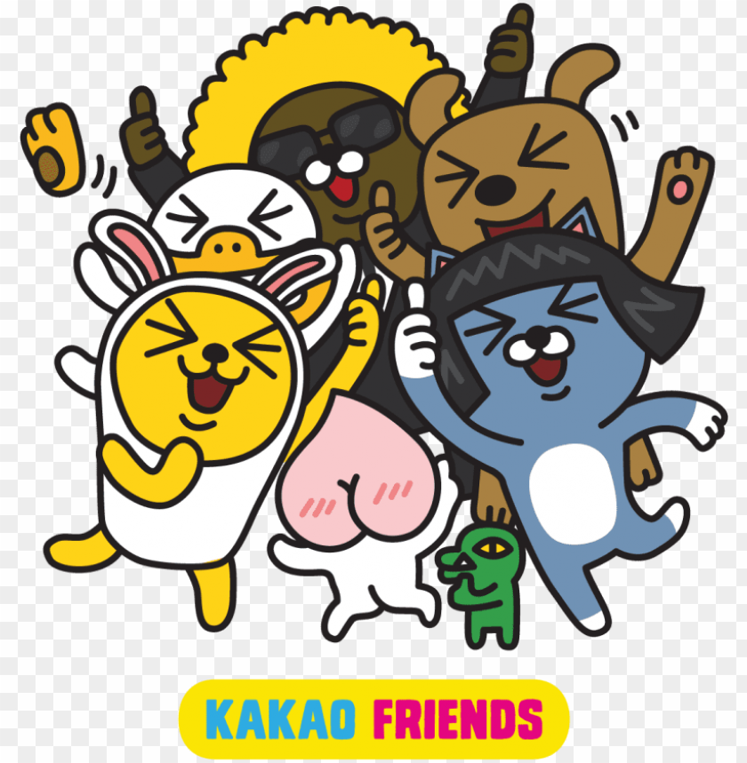 free PNG kakao friends photo kakaofriends zps9348d64f - kakaotalk friends PNG image with transparent background PNG images transparent