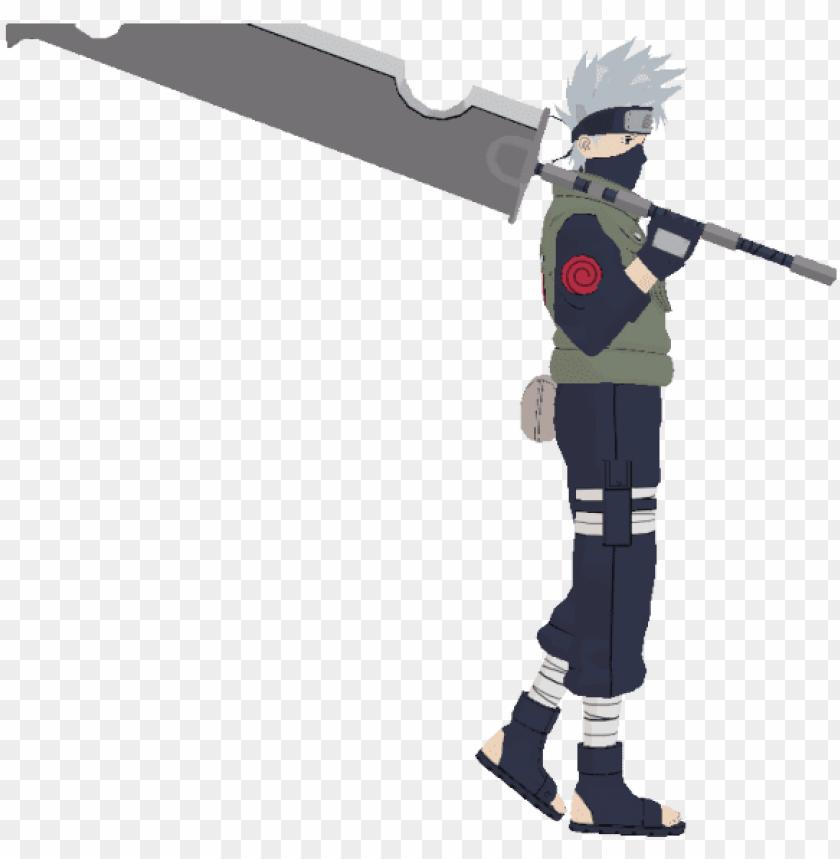 Kakashi Mmd Naruto Model Dl Png Image With Transparent