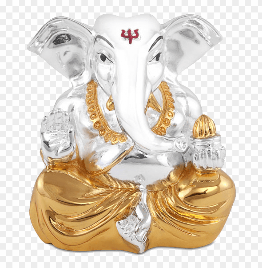 free PNG kan ganesha gs - silver stone ganpati PNG image with transparent background PNG images transparent