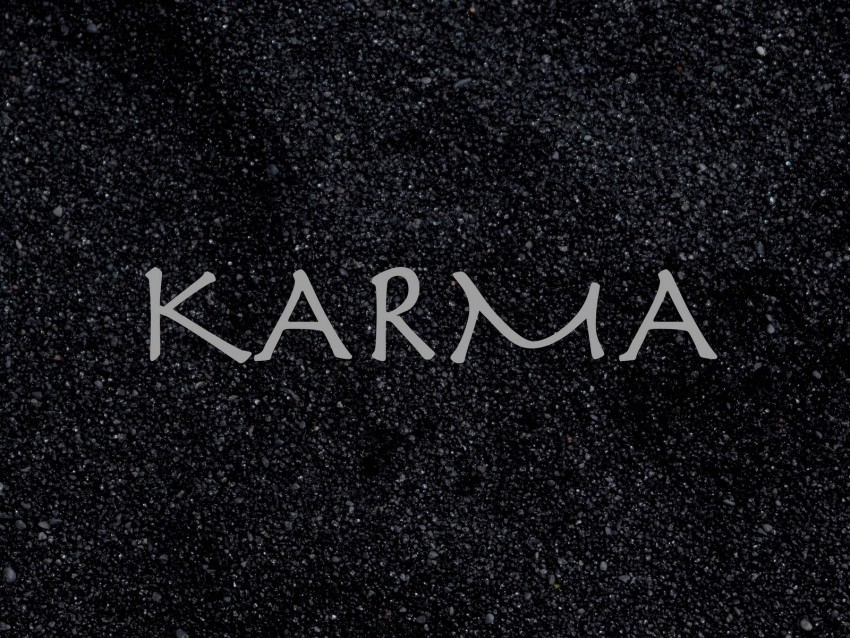 free PNG karma, inscription, sand, boomerang, cause, effect background PNG images transparent