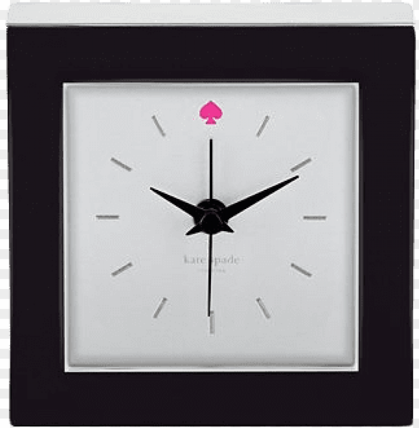free PNG kate spade cross pointe black clock PNG image with transparent background PNG images transparent