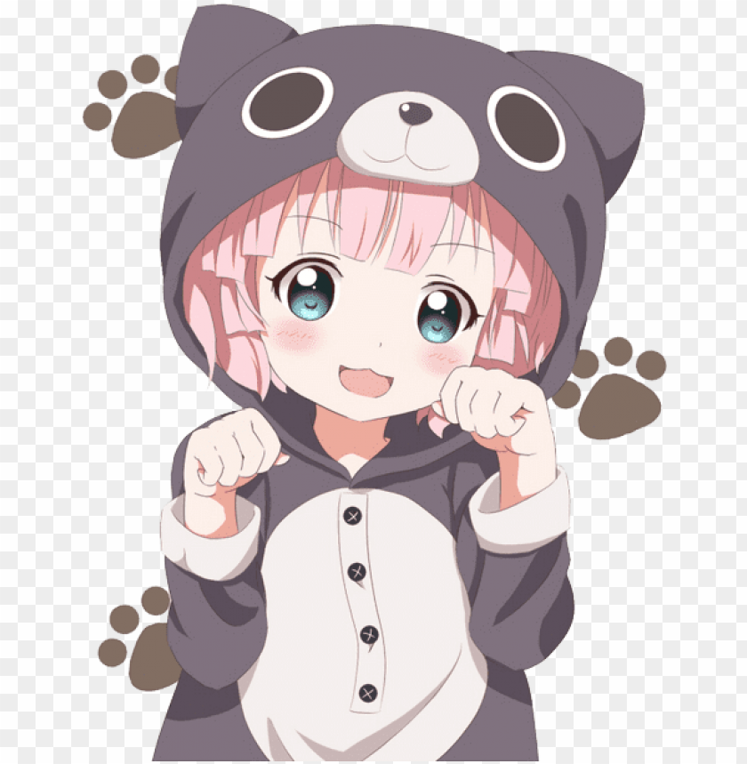 Kawaii Anime Girl Png Image With Transparent Background Toppng
