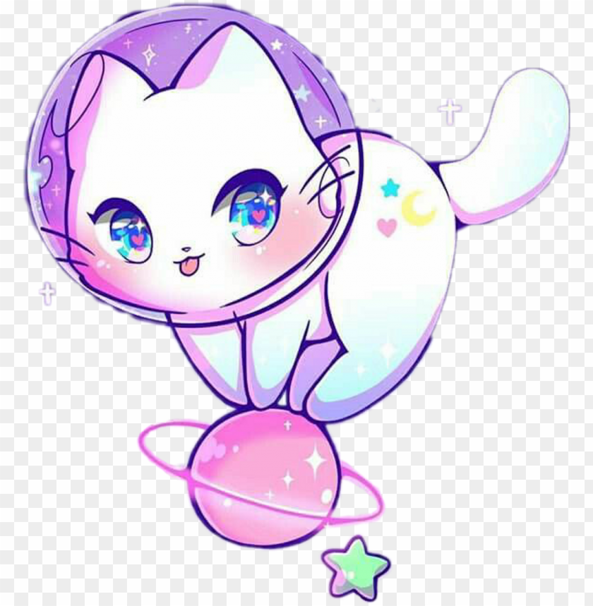 kawaii cat neko nya space astronaut multicolor cat in space drawi 11562922657nw0n6ea5ur