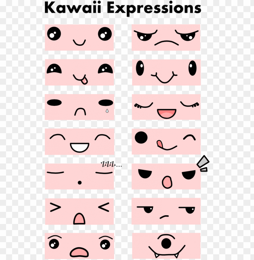 free PNG かわいいねこちゃん kawaii doodles, cute kawaii drawings, kawaii - imagenes de ojos kawaii para dibujar PNG image with transparent background PNG images transparent
