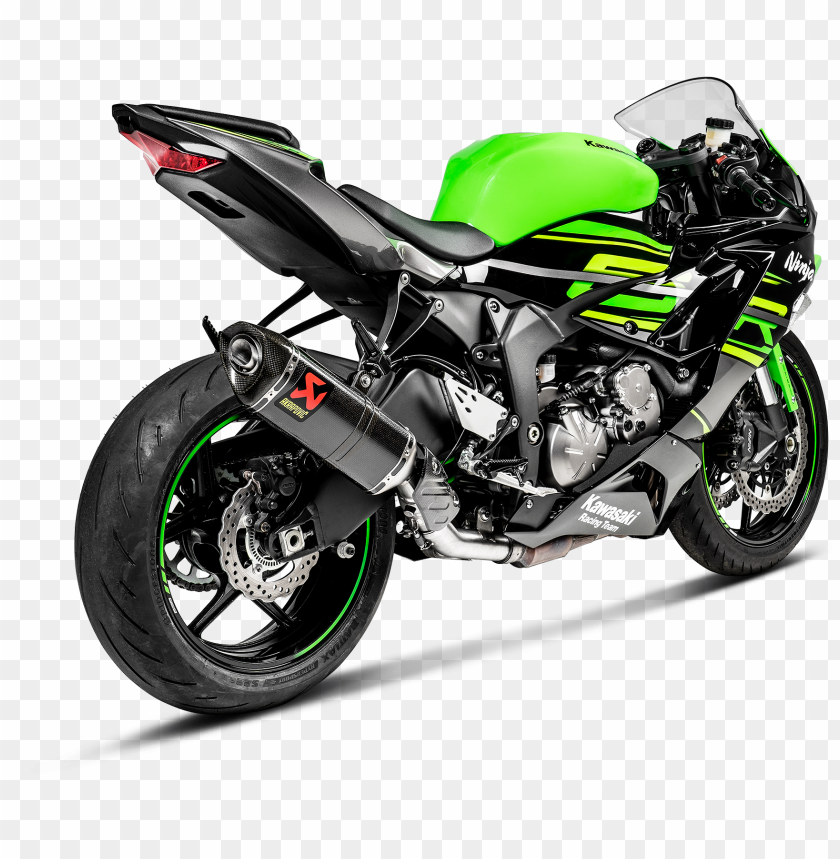 free PNG kawasaki ninja zx-6r optional link pipe PNG image with transparent background PNG images transparent