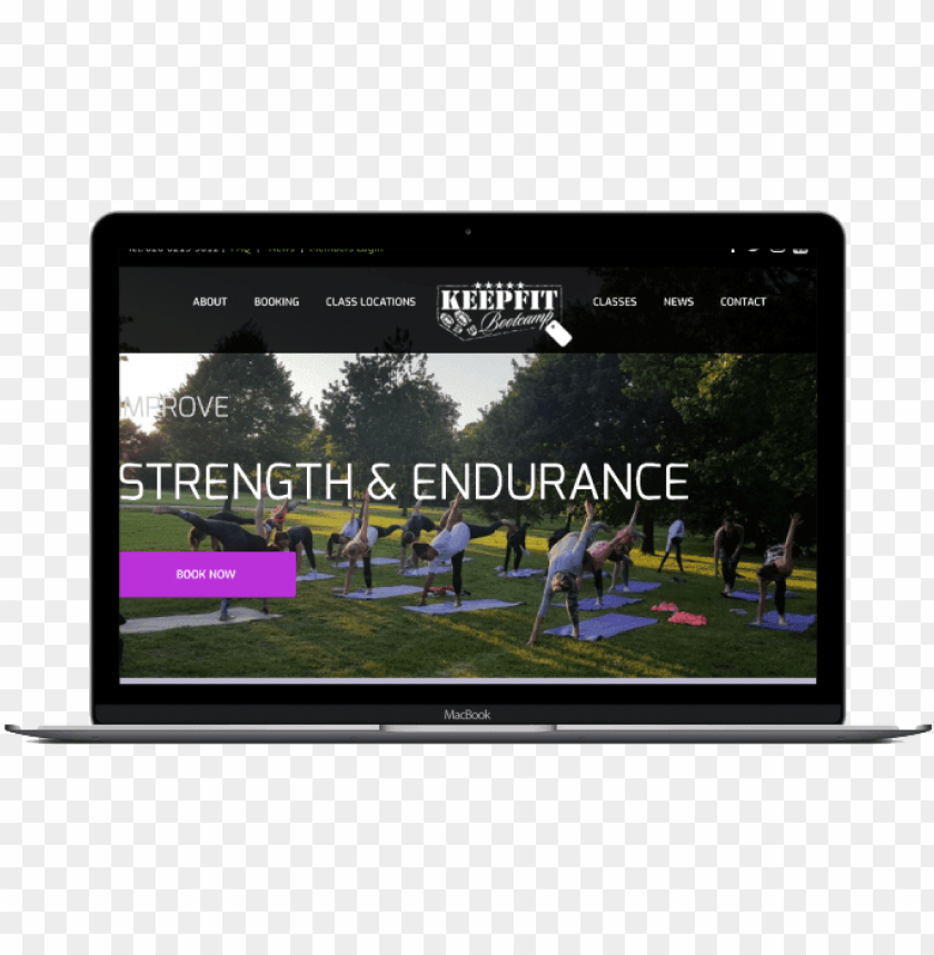 free PNG keep fit bootcamp responsive website design by london - led-backlit lcd display PNG image with transparent background PNG images transparent