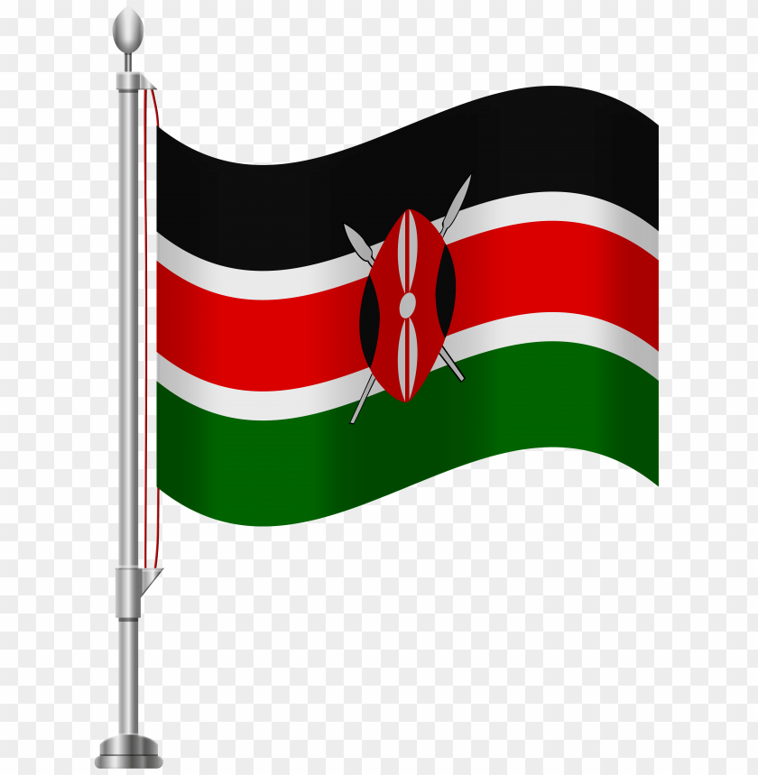 Download kenya flag clipart png photo  @toppng.com