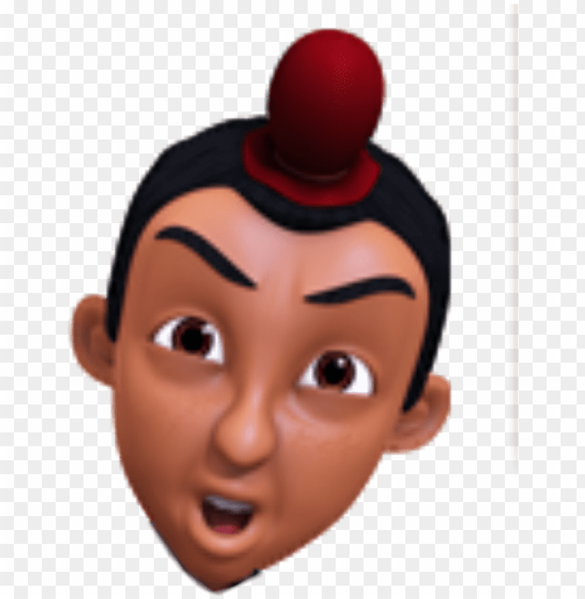 Kepala Upin Ipin Png Image With Transparent Background Toppng