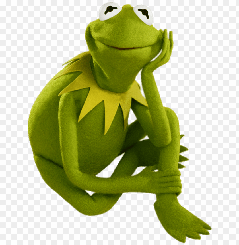 free PNG kermit the frog sitting - kermit the frog PNG image with transparent background PNG images transparent