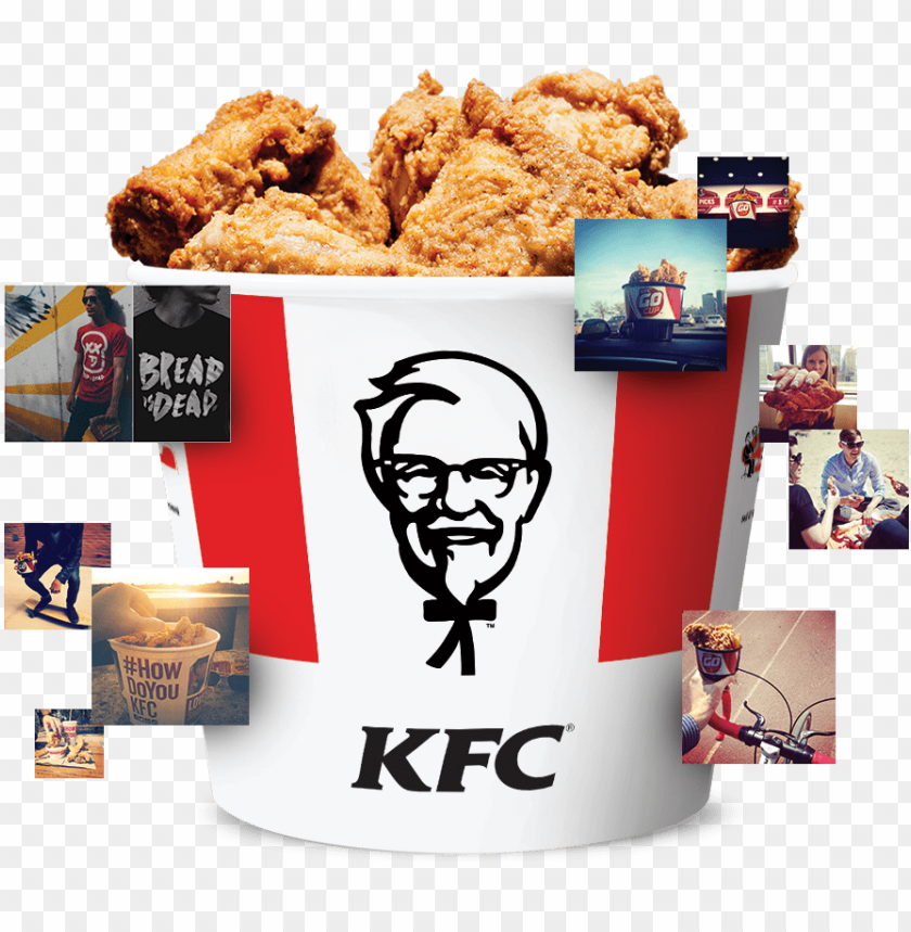 free PNG kfc social bucket - thc go green tablet - ipad mini 1 PNG image with transparent background PNG images transparent