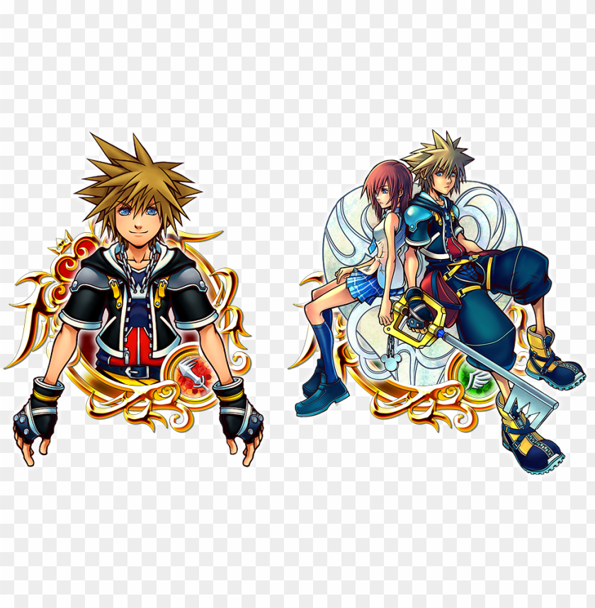 free PNG kh2 sora illustrated version and key art - kingdom hearts mickey art PNG image with transparent background PNG images transparent