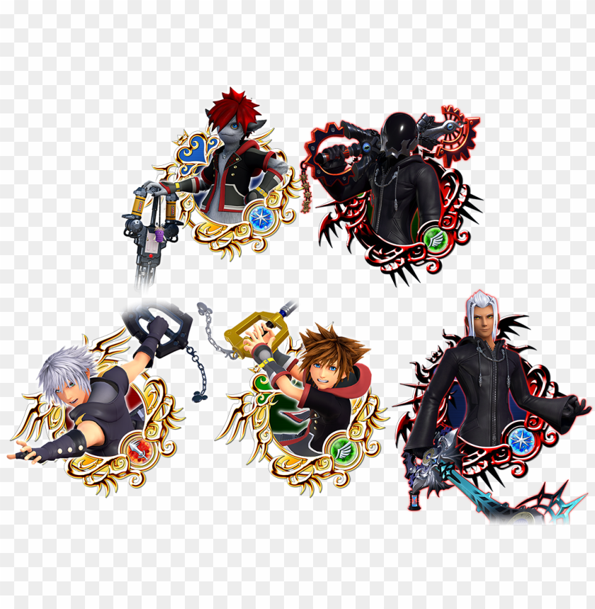 free PNG kh3 falling price deal2 medals - kingdom hearts PNG image with transparent background PNG images transparent