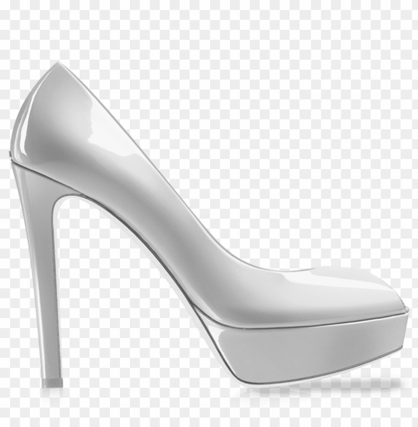 free PNG kheila white women shoe png - Free PNG Images PNG images transparent