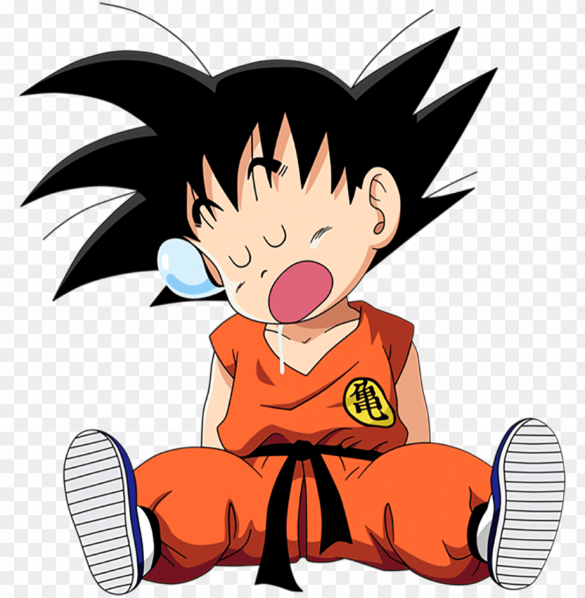 free PNG kid goku gifs search find make share gfycat gifs dragon - dragon ball kid goku PNG image with transparent background PNG images transparent
