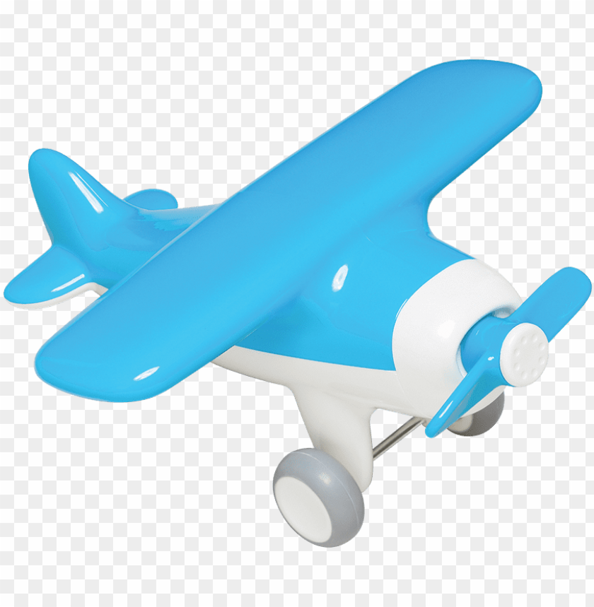 free PNG kid o logo - blue toy plane PNG image with transparent background PNG images transparent