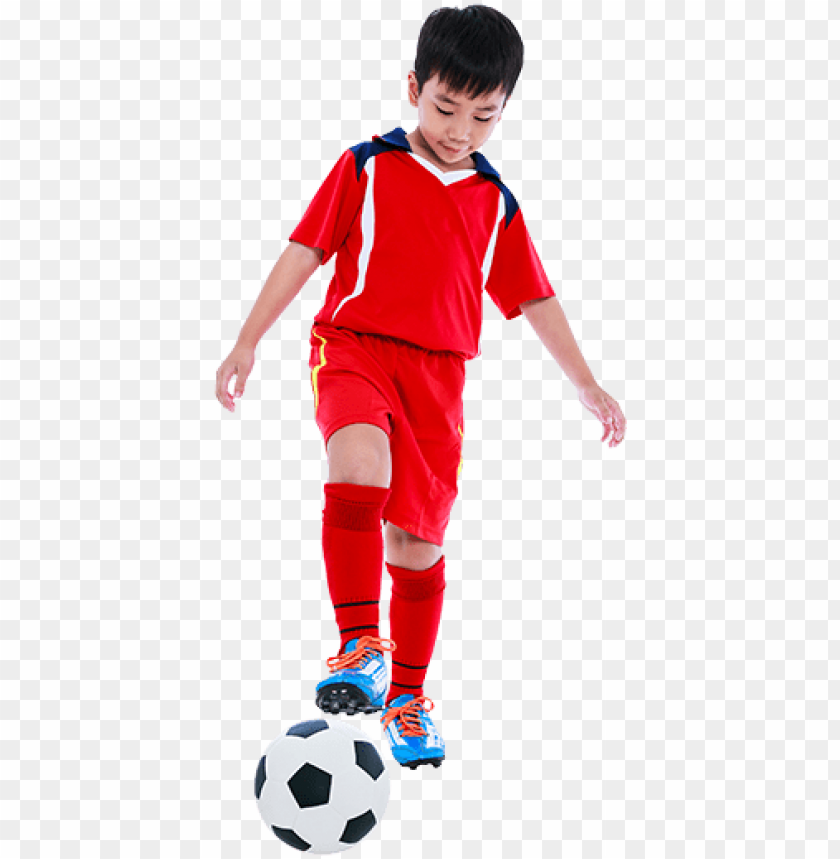 free PNG kid playing soccer - kids play football PNG image with transparent background PNG images transparent