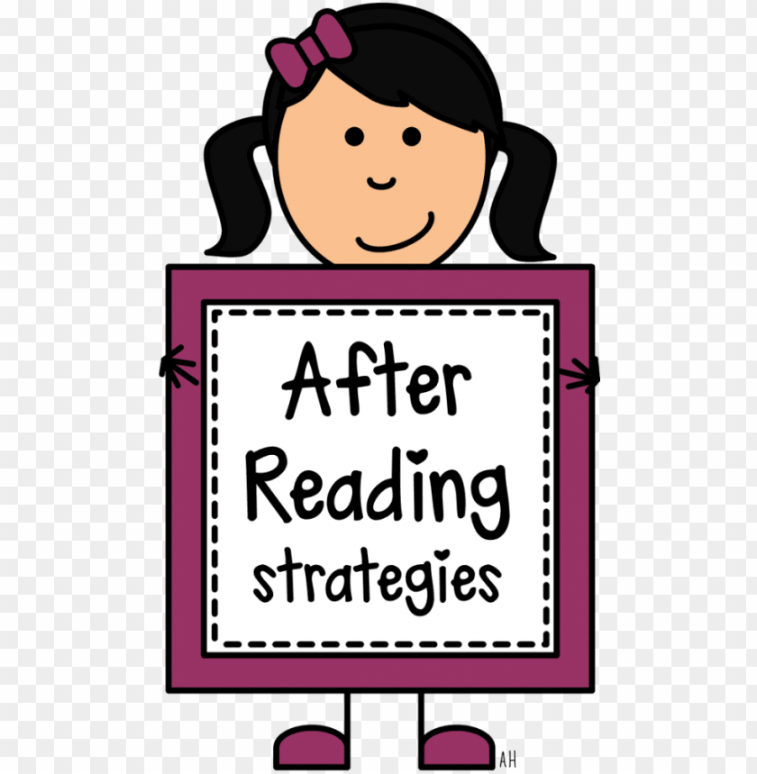 free PNG kids reading clipart - post reading clip arts PNG image with transparent background PNG images transparent