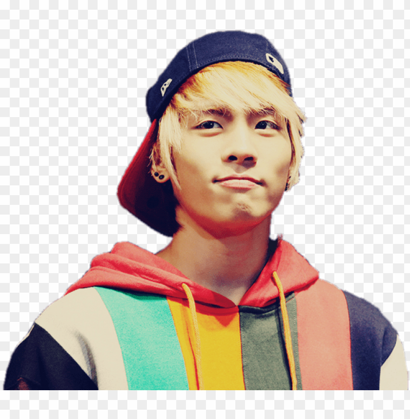 free PNG kim jong hyun colourful jumper - shinee jonghyun PNG image with transparent background PNG images transparent