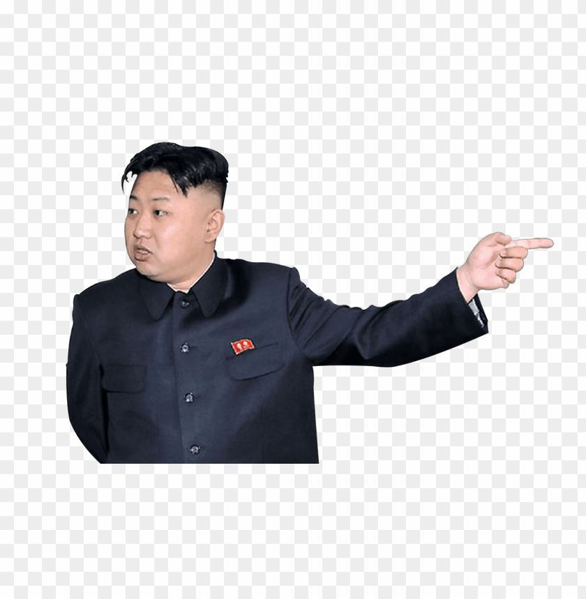 free PNG Download kim jong un pointing right png images background PNG images transparent
