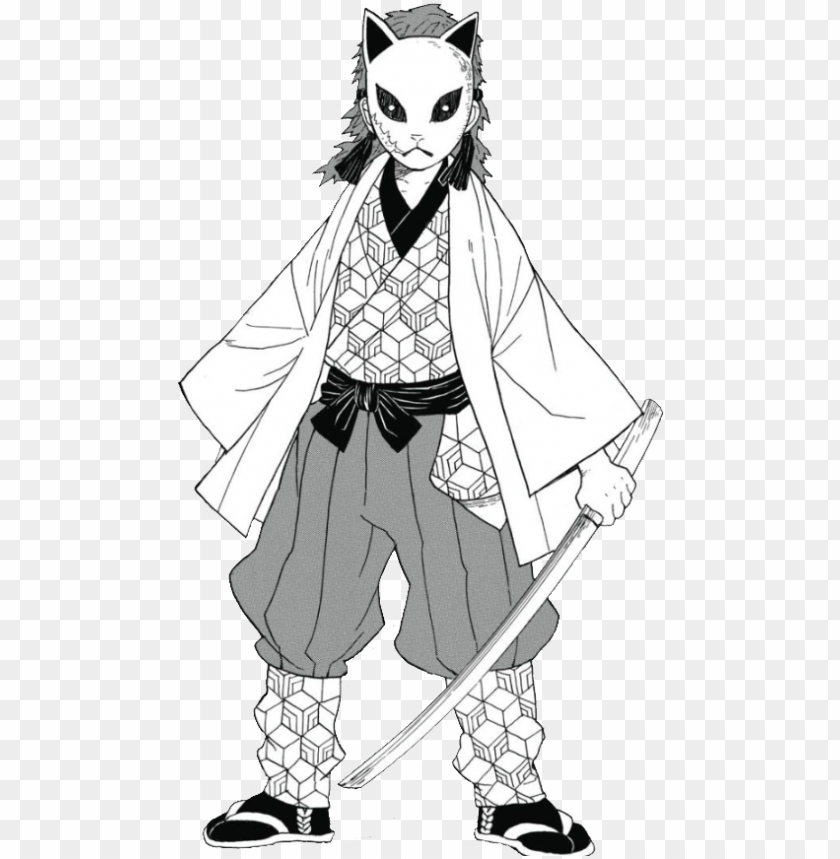 free PNG Kimetsu No Yaiba Sabito Manga black and white PNG image with transparent background PNG images transparent