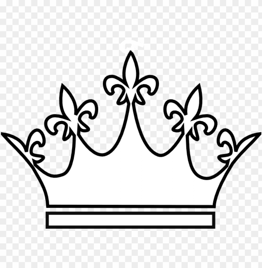 free PNG king and queen crowns drawings - queen crown white PNG image with transparent background PNG images transparent
