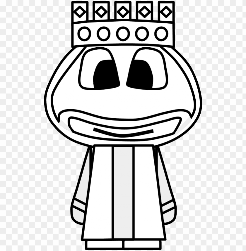 King Crown Big Eyes Cartoon Person Black And White Cartoo Png Image With Transparent Background Toppng ✓ free for commercial use ✓ high quality images. king crown big eyes cartoon person