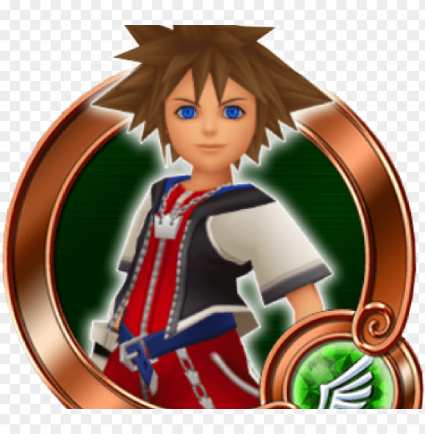 kingdom hearts clipart sora - kingdom hearts medals sora PNG image with transparent background@toppng.com