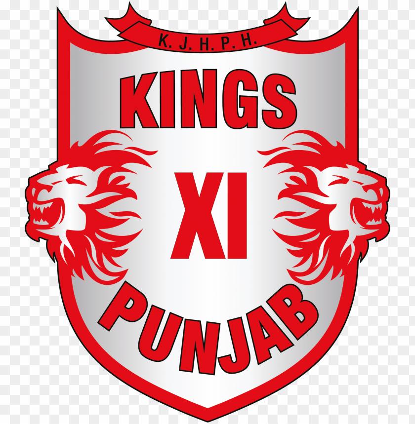 free PNG kings xi punjab logo [kxip - kings 11 punjab logo PNG image with transparent background PNG images transparent