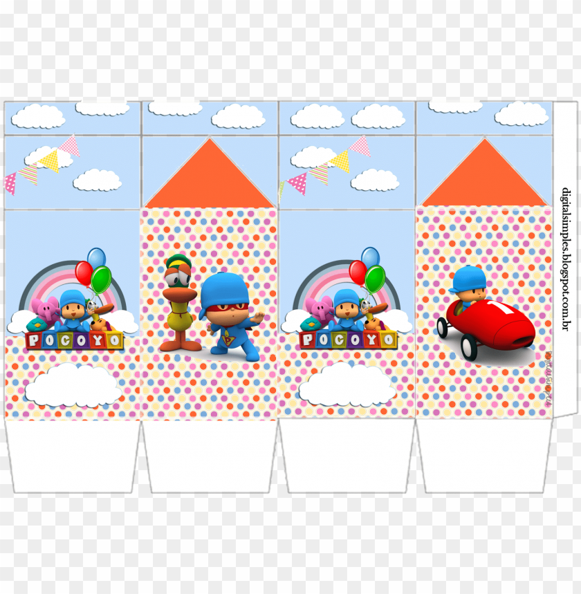 free PNG kit de personalizados tema pocoyo convites digitais - pocoyo PNG image with transparent background PNG images transparent