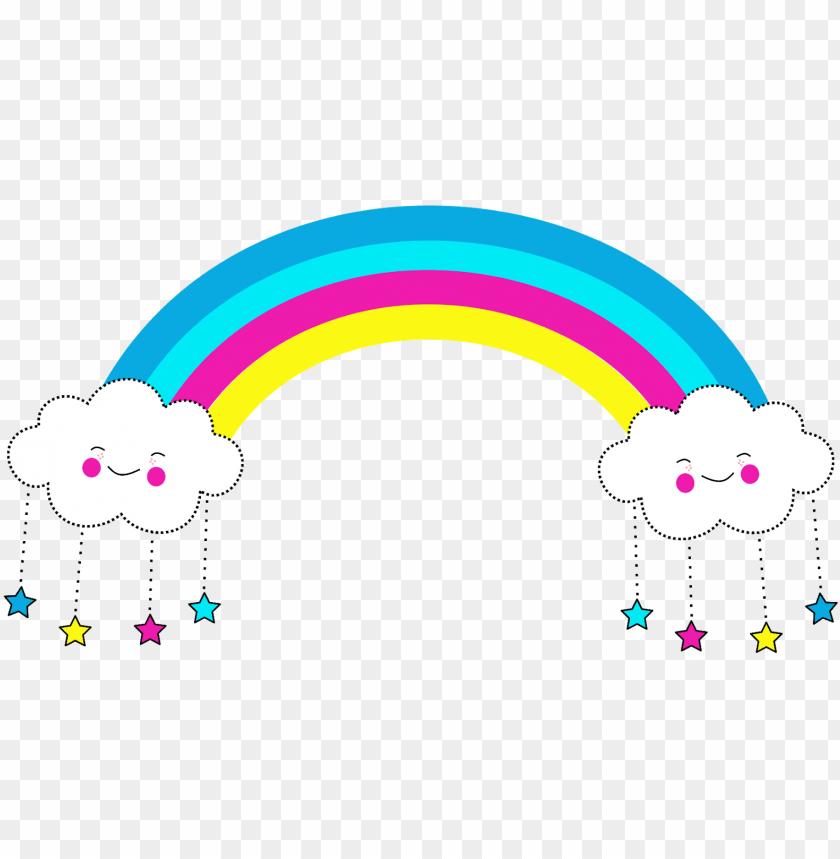 free PNG kit digital gratuito tema unrnio, kit digital unicórnio, - nuvem e arco iris PNG image with transparent background PNG images transparent
