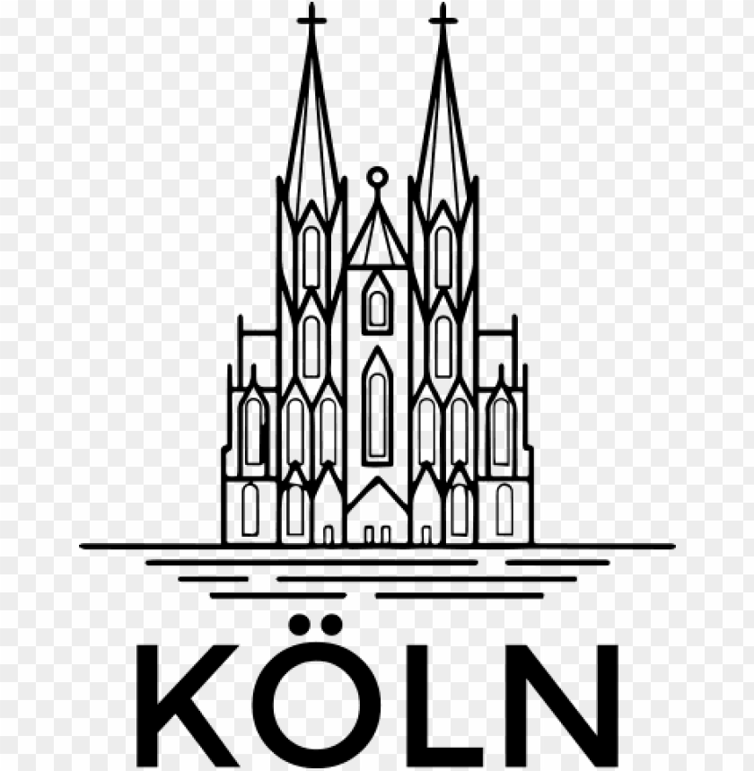 Kolner Dom Silhouette Png Image With Transparent Background Toppng