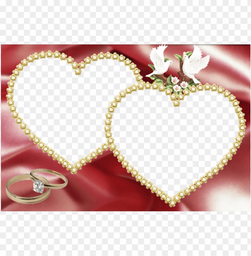 free PNG koleksi bingkai foto google search love wedding doves - wedding couple photo frames PNG image with transparent background PNG images transparent