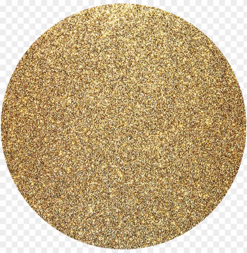 free PNG kpop glitter gold background golden circle shapecrop - clear background gold glitter circle PNG image with transparent background PNG images transparent