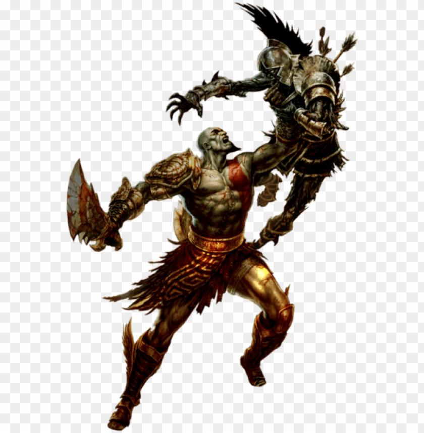 free PNG kratos god of war - god of war artbook PNG image with transparent background PNG images transparent