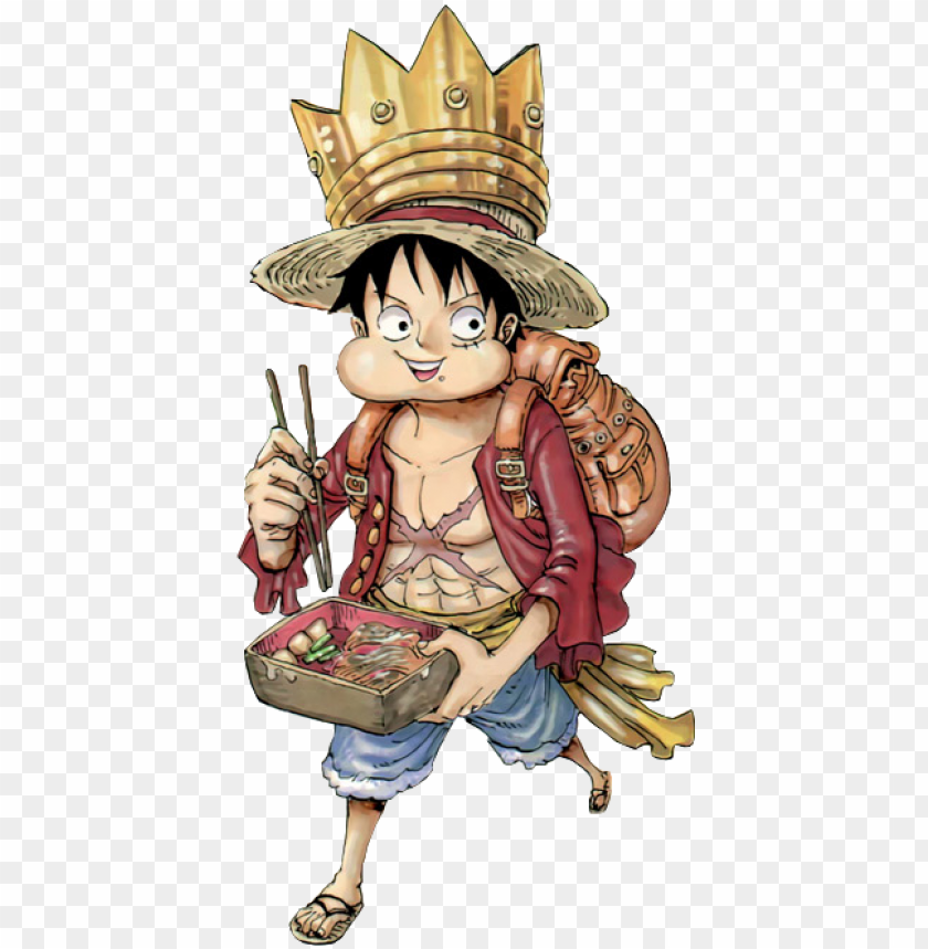 free PNG قرد d luffy png صورة قطعة واحدة sticker - one piece color walk vol 07 tyrannosaurus sc PNG image with transparent background PNG images transparent