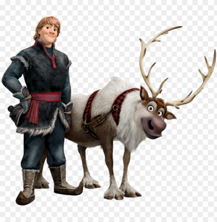 free PNG kristoff and sven frozen PNG image with transparent background PNG images transparent