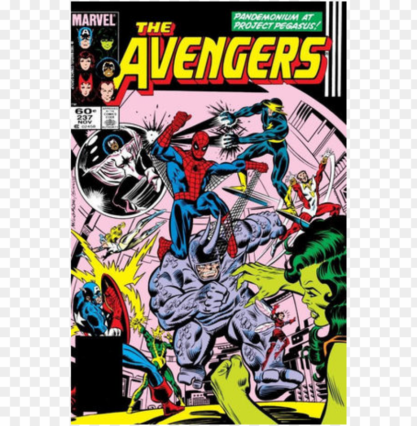 free PNG Купете comics 1983-11 the avengers - avengers comic covers PNG image with transparent background PNG images transparent