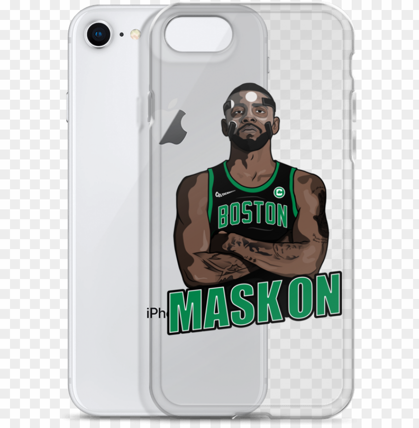 """free PNG kyrie """"mask on"""" iphone case - iphone PNG image with transparent background PNG images transparent"""