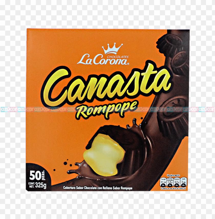 free PNG la corona canasta relleno rompope 24/50 la corona - chocolate canasta rompope PNG image with transparent background PNG images transparent