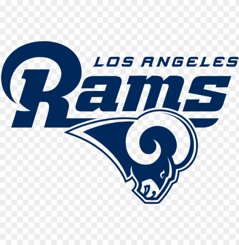 la rams logo 2017 PNG image with