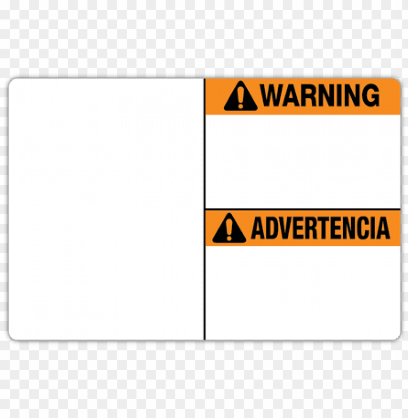 free PNG labeltac die-cut bilingual warning labels - accuform signs sbmcaw312mvp warning no smoking sign,10 PNG image with transparent background PNG images transparent